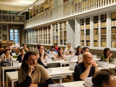 La biblioteca en la Televisión de Galicia en el programa Revista FD