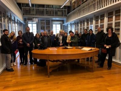 Exposición de las obras de Erasmo de Róteram en la Biblioteca Provincial Franciscana