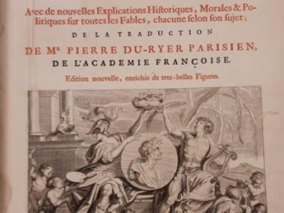 Obra del mes. Febrero 2021. Las metamorfosis de Ovidio. Bruselas, 1677